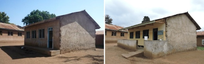 Korongoni kindergarten before and after