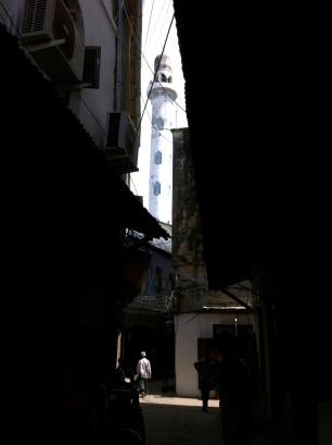 Mosque Mineret, Zanzibar is a Muslim country