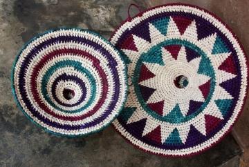 Uzi baskets made by women's group