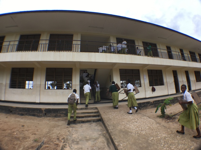 At Taguja Secondary School
